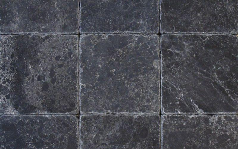 Marmor Mosaikfliesen Black Marble antik