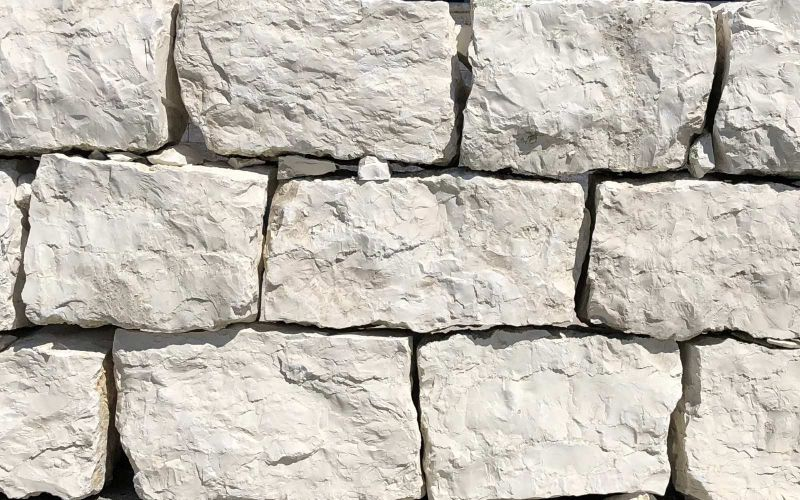 Mauersteine Naturstein für Trockenmauer