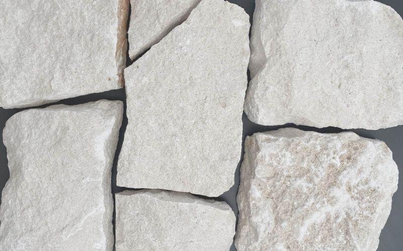 Naturstein Verblender weiß
