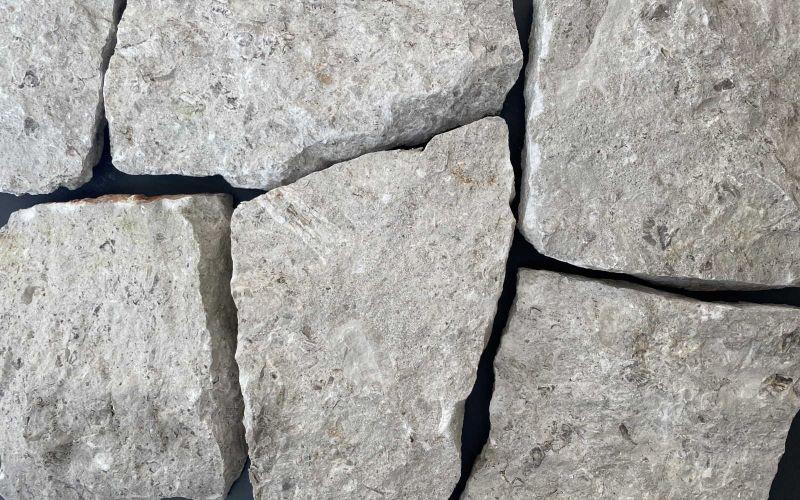 Naturstein Verblender grau