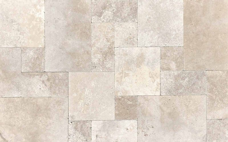 Travertin Terrassenplatten Medium Classic