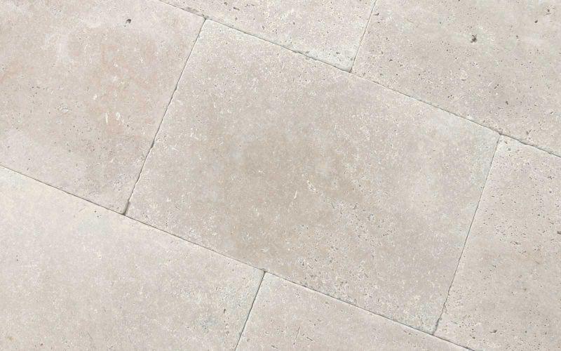 Terrassenplatten Travertin Medium Great getrommelt