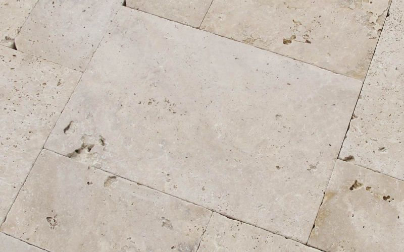 Rustikale Travertin Rustic Terrassenplatten