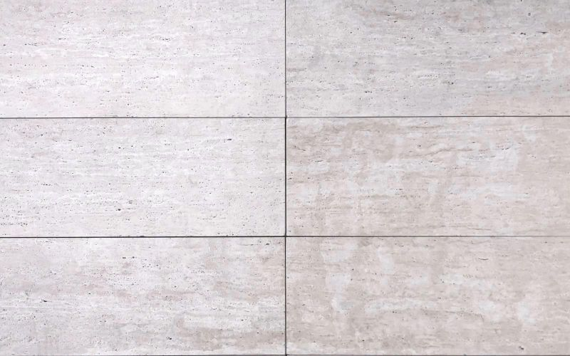 Travertin Terrassenplatten Crema Vein Cut