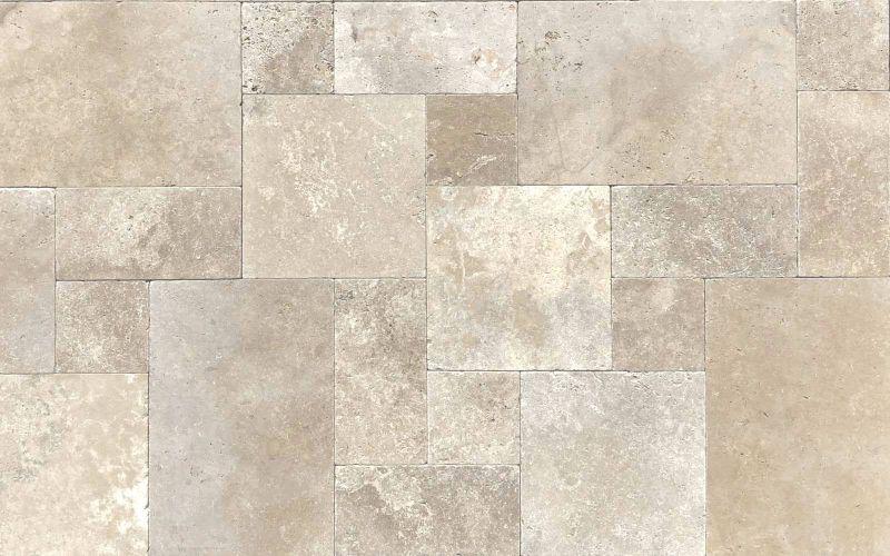 Travertin Terrassenplatten Medium Standart