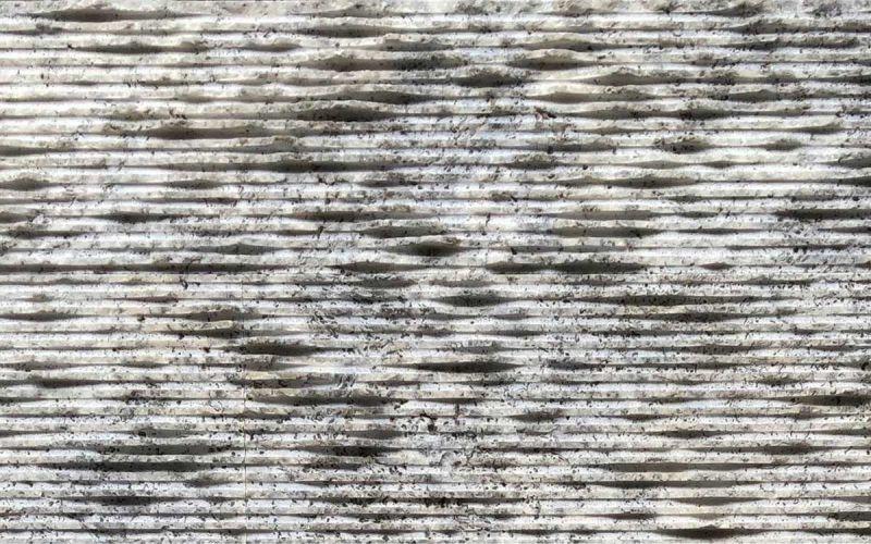 Wandverkleidung Travertin Rill Silver